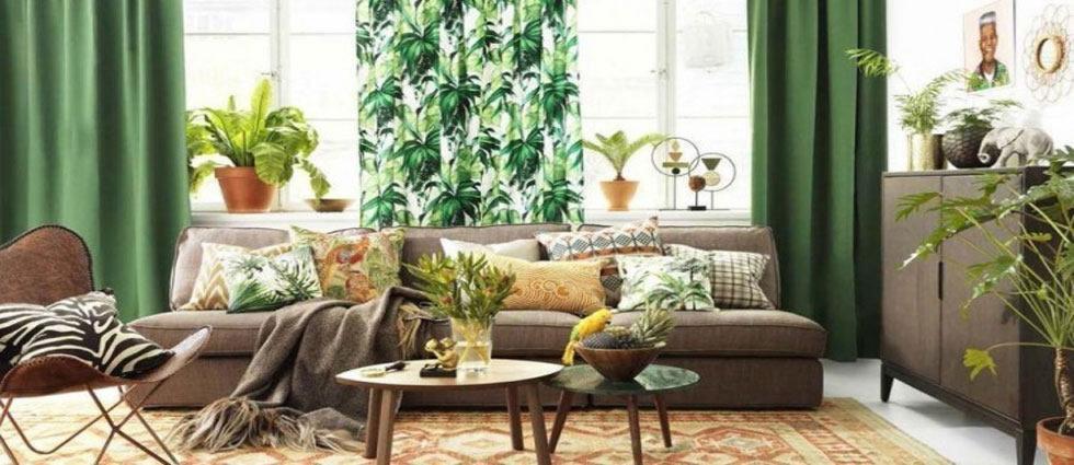 decoración urban jungle divertida