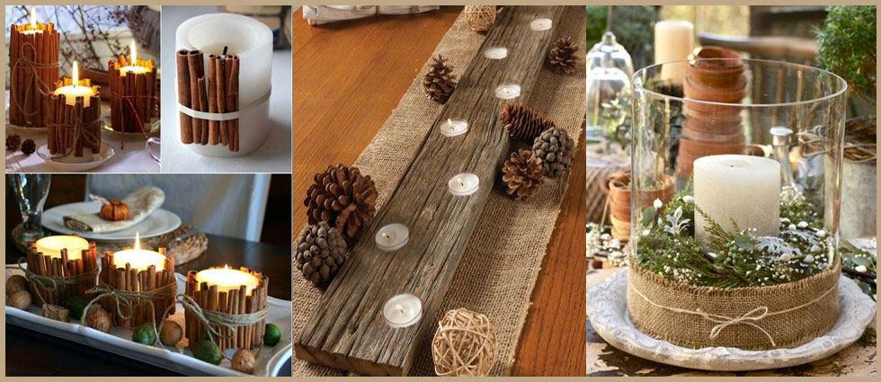 decorar con velas llamativas