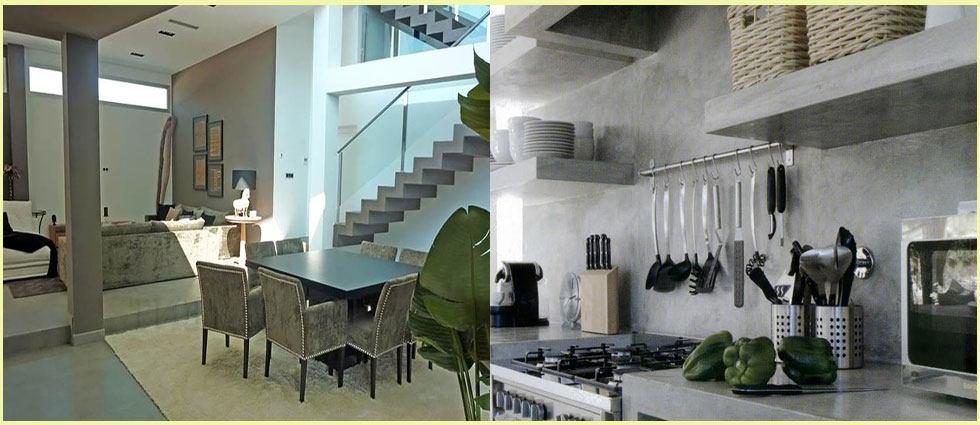 microcemento para todas las habitaciones