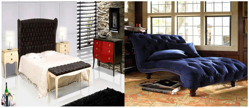 terciopelo en decoración de butacas y sillones