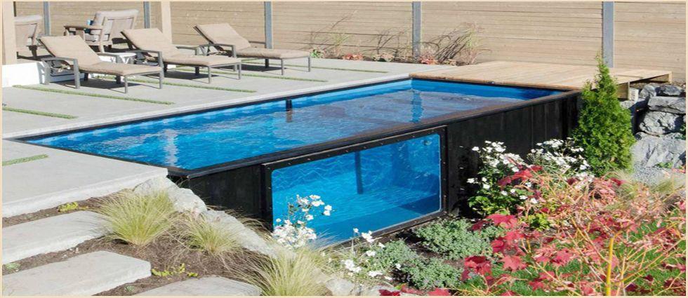 piscinas de contenedores industriales sostenibles