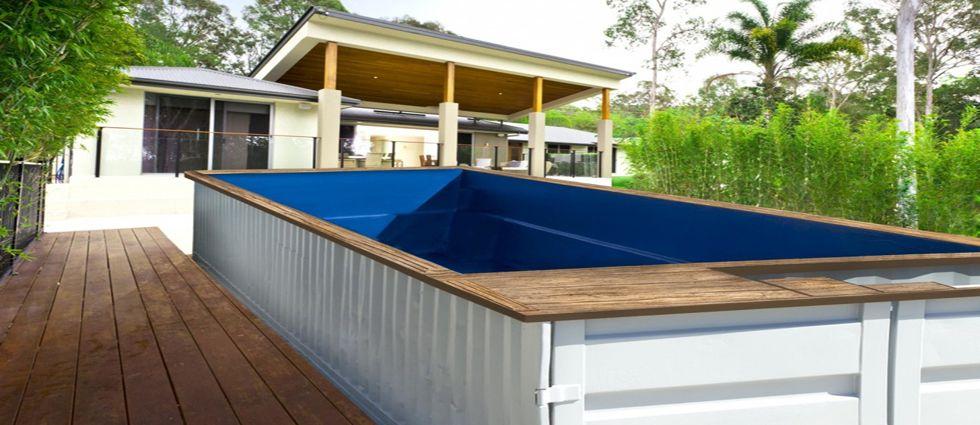 piscinas de contenedores industriales asequibles