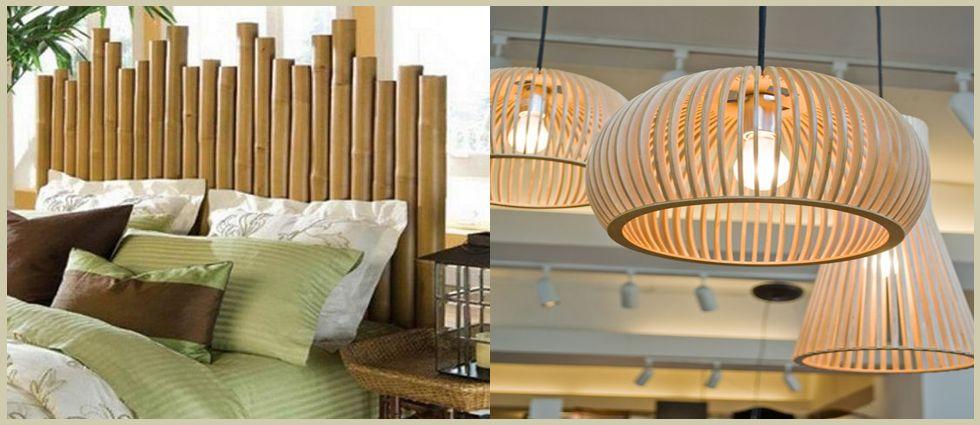 bambú decorativo y barato