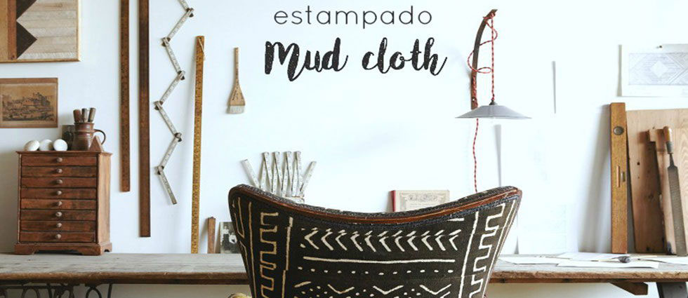Mud Cloth en los hogares