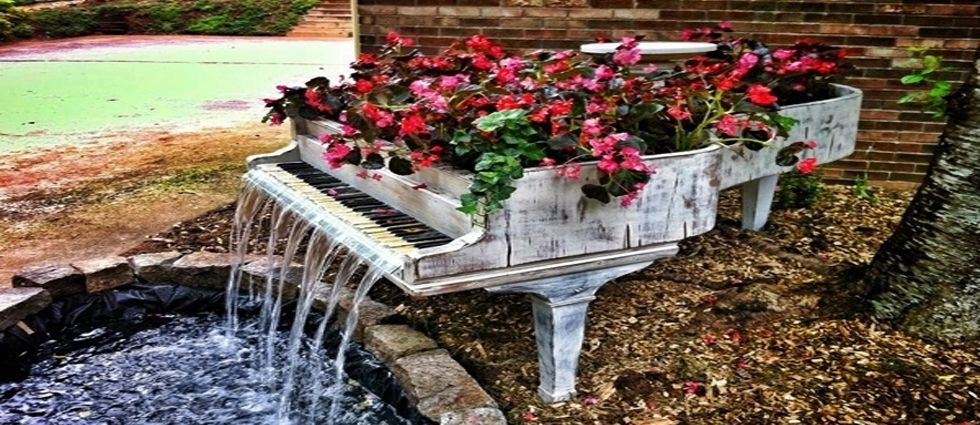 Fuentes de agua para embellecer el jard n la casa de pinturas for Fuentes decorativas de jardin