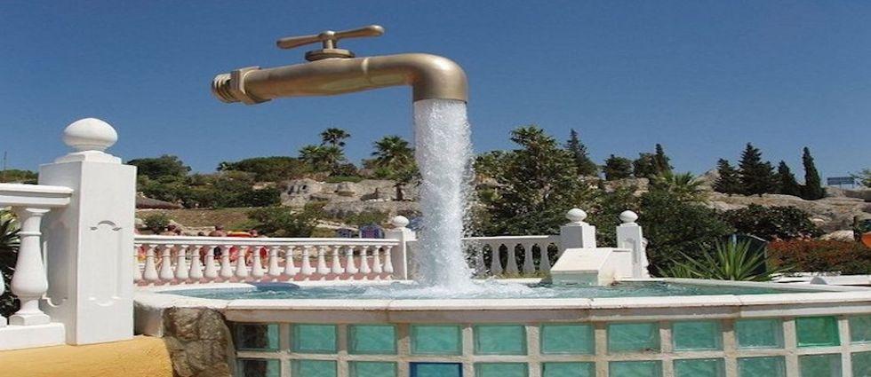 fuentes de agua de diseño