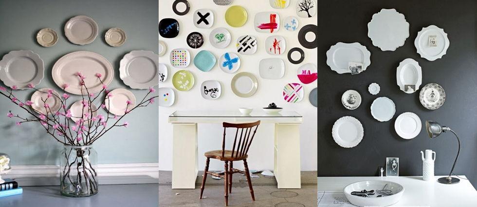 platos de ceramica decorativos