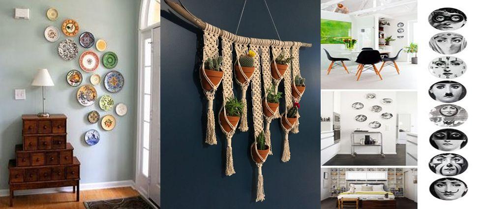platos de ceramica para decorar casas