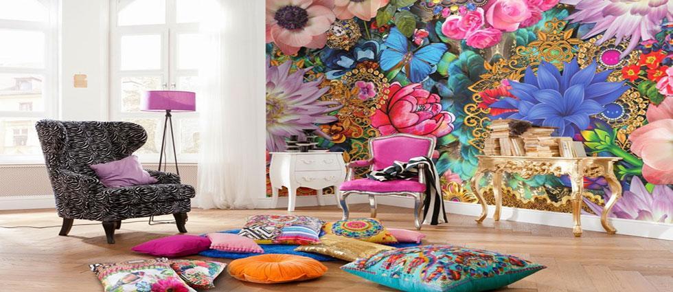 tendencias decorativas en estampados en el hogar