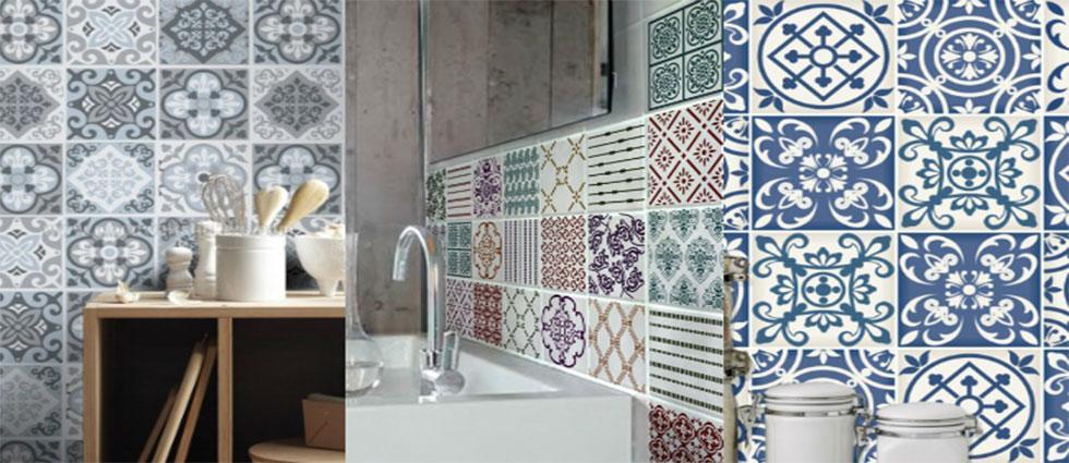 azulejos en decoración de hogares