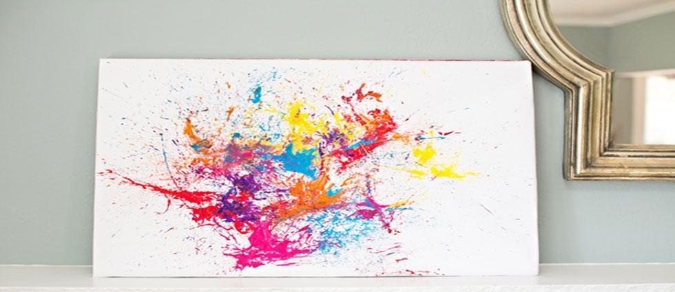 ideas para crear splatter