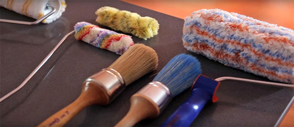 Limpieza de brochas, pinceles y rodillos consejos