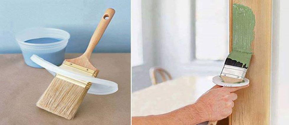 Limpieza de brochas, pinceles y rodillos manchados