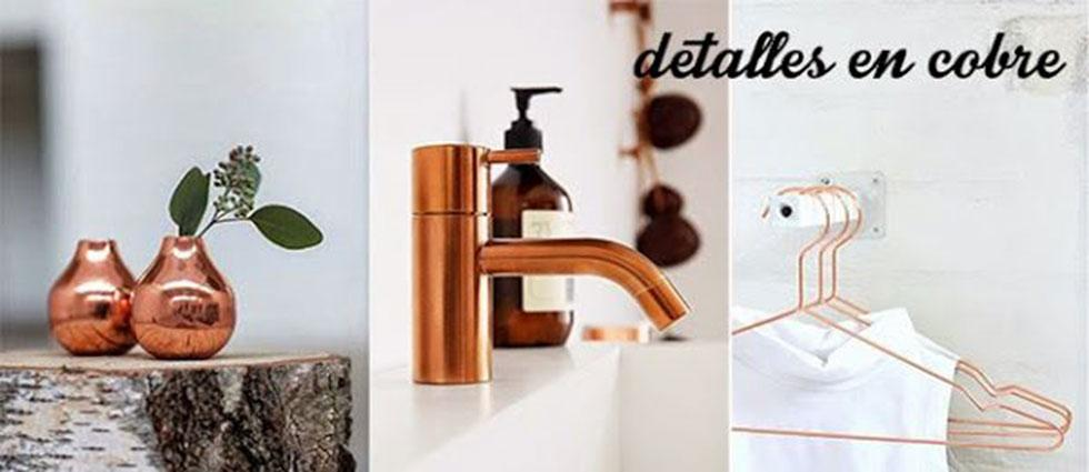 cobre y dorado ideas decorativas