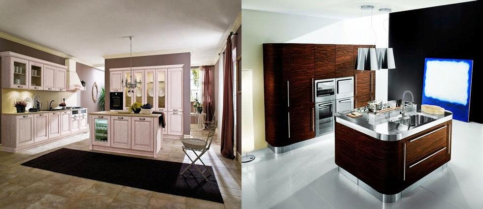 cocinas de madera decorativas