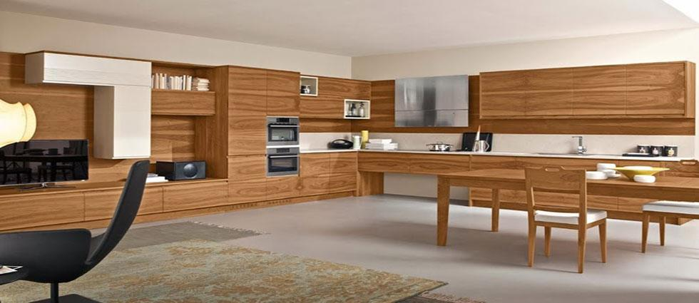 cocinas de madera de tendencia