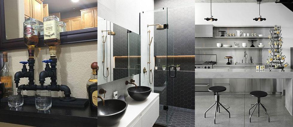 http://lacasadepinturas.com/blog/wp-content/uploads/2018/03/acero-inoxidable-negro-de-moda en casas.jpg