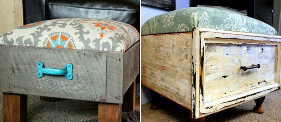 reciclar cajones viejos baratos