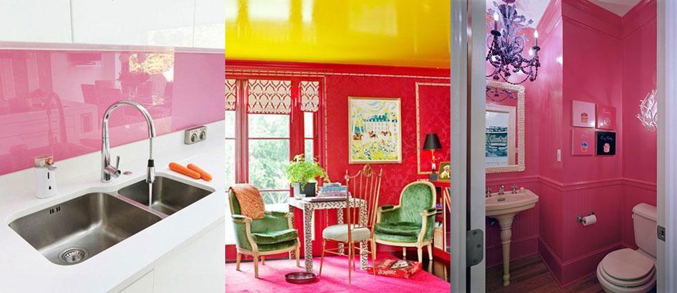 paredes lacadas con brillo elegantes