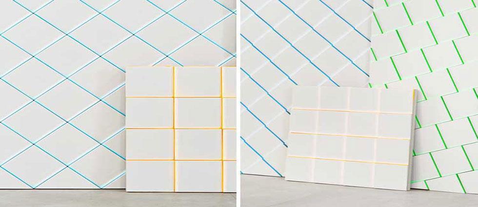 renovar azulejos coloreando las juntas facil y sencillo