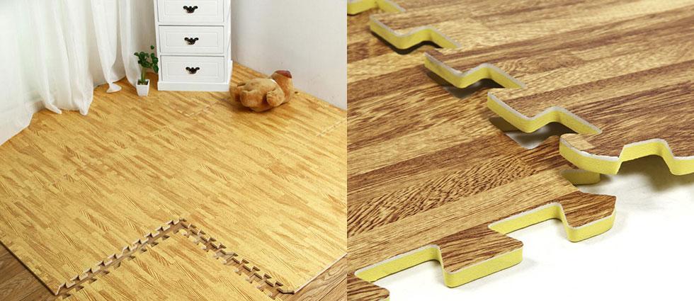 suelos de goma eva en habitaciones