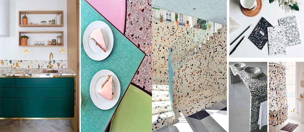terrazo material resistente