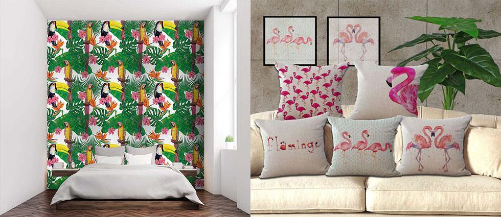 aves exóticas en casas