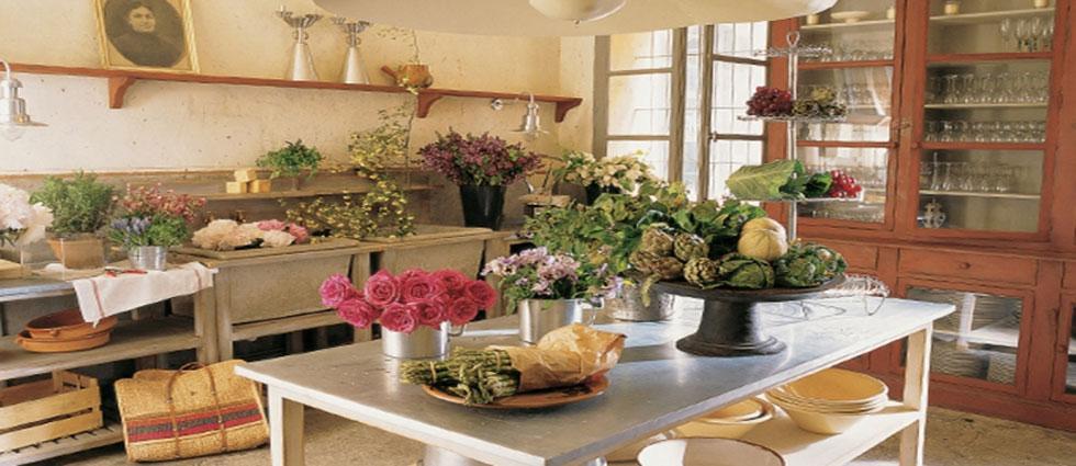 primavera en cocinas alegres