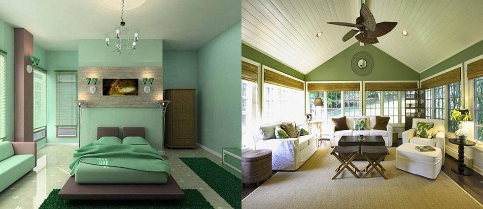 verde jade en decoracion casas