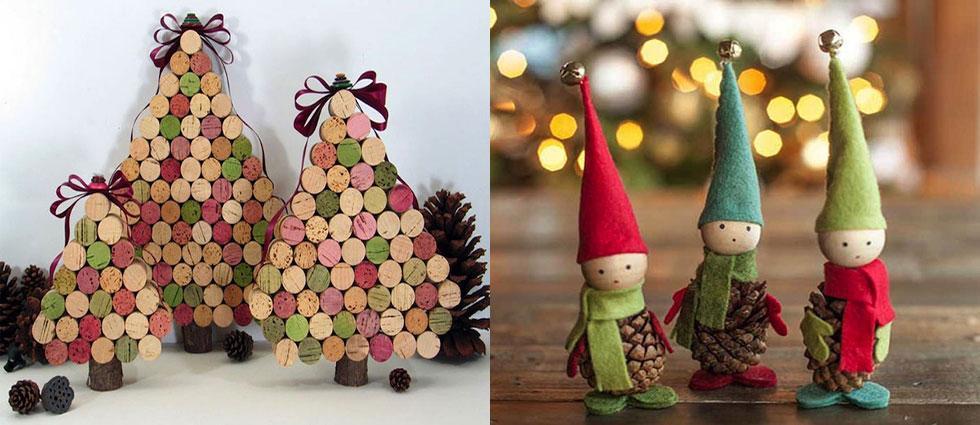 adornos navideños originales y divertidos