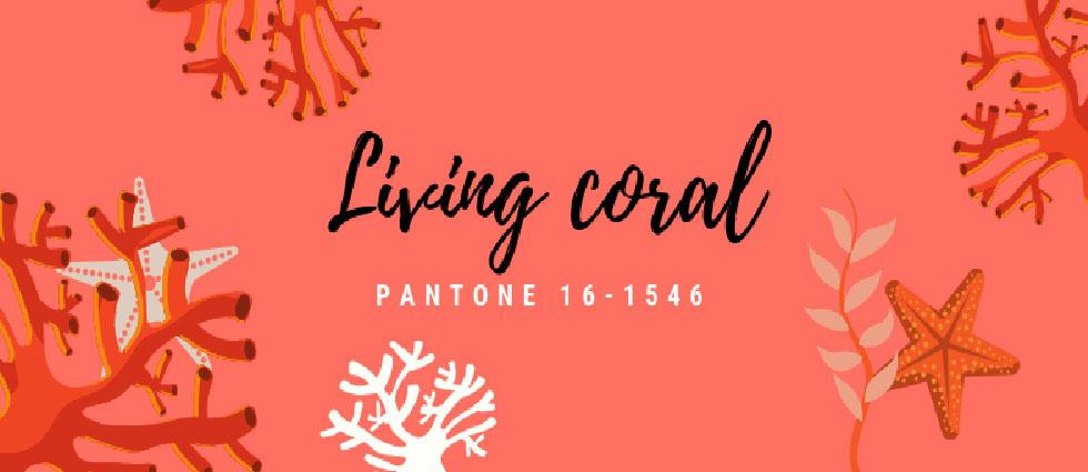 living coral color 2019