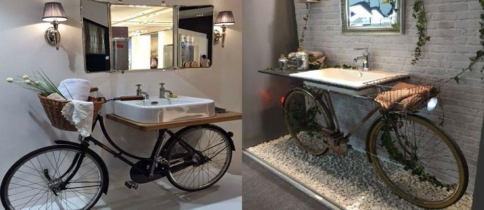 bicicletas decoradas baños