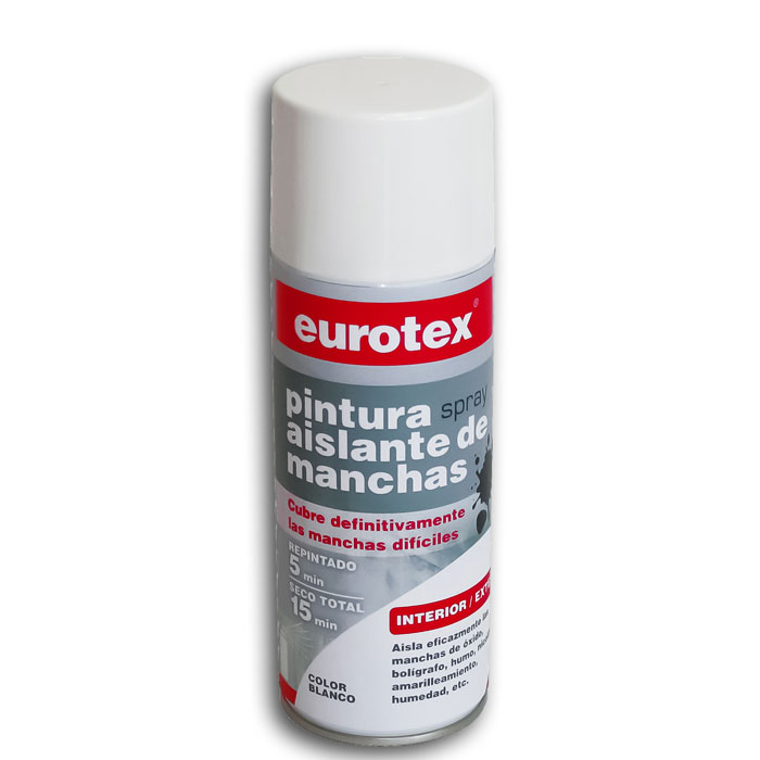 PINTURA SPRAY AISLANTE ANTIMANCHAS 400 ML