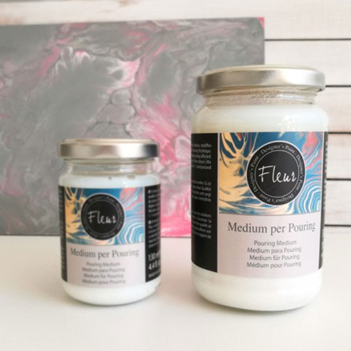 MEDIUM POURING FLEUR PAINT