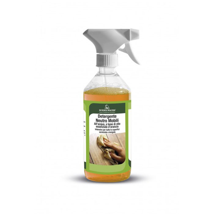 DETERGENTE NEUTRO PARA MUEBLES DE INTERIOR 500 ML