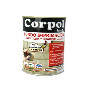 CORPOL IMPRIMACIÓN PARA MADERA DE EXTERIOR 750 ML