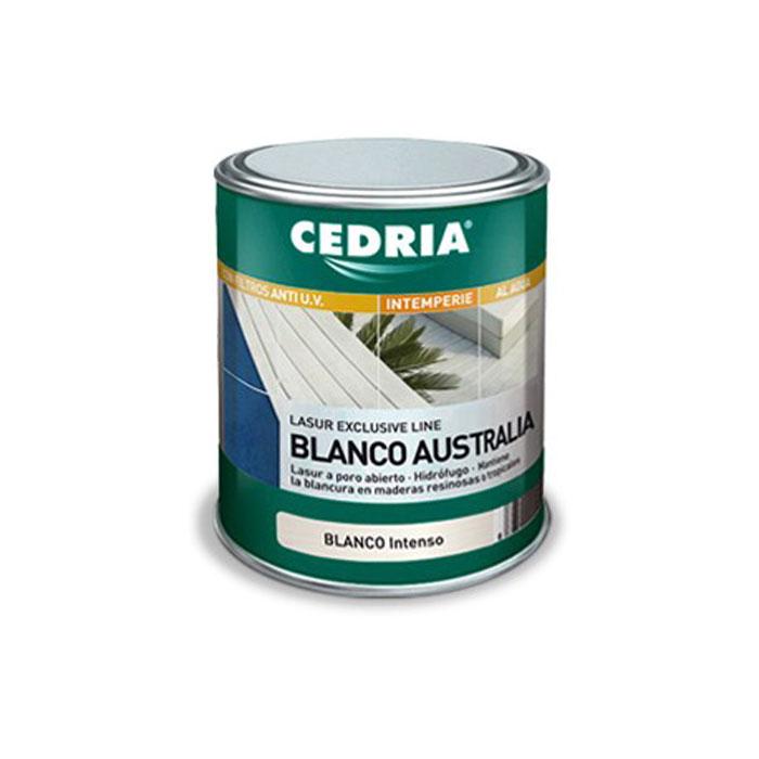 BARNIZ  AL AGUA BLANCO AUSTRALIA EXTERIOR CEDRIA 750 ml