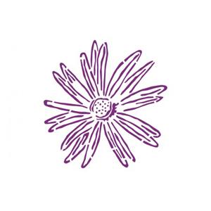 PLANTILLA ADHESIVA REUTILIZABLE MARGARITA 30 X 38 CM.
