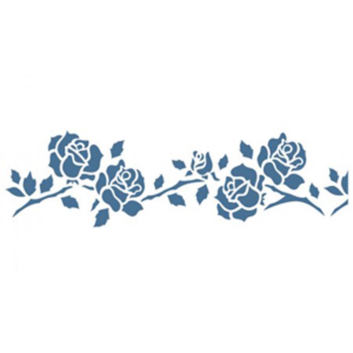 Plantilla adhesiva reutilizable cupido 15 x 20 cm - Plantillas decorativas pared ...