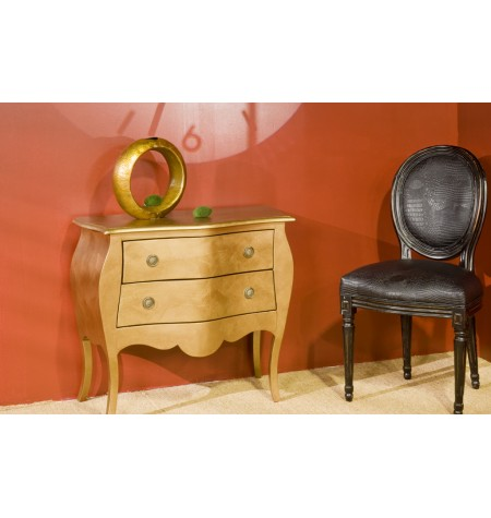Pintura para muebles dorada o plateada platine les - Pintura dorada para madera ...