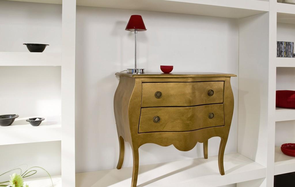 Pintura para muebles dorada o plateada platine les - Pinturas para muebles ...