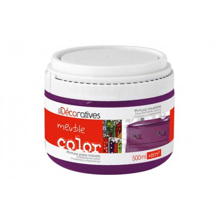 PINTURA DECORATIVA MUEBLE COLOR LES DECORATIVES 500 ML.
