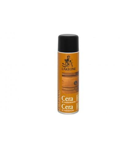 Cera de mantenimiento para muebles lakeone spray 500 ml for Cera para muebles