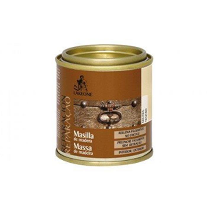 MASILLA DE MADERA NEUTRA LAKEONE 140 g.