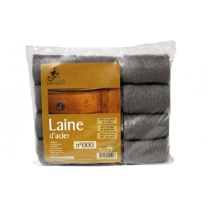 TAMPONES LANA ACERO 000 LAKEONE 60 GR.