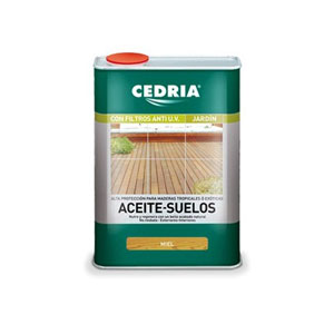 ACEITE PARA SUELOS DE MADERA CEDRIA 1 LITRO.