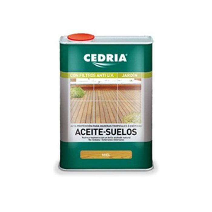 Aceite para suelos de madera cedria 1 litro for Aceite para muebles de madera